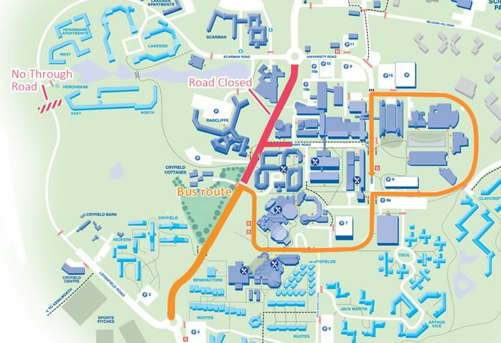 What Is Happening With The Campus Roadworks?