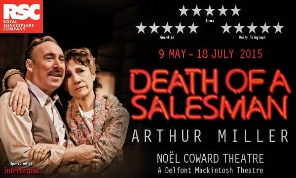 a review of arthur millers death of salesman On the first anniversary of the opening of death of a salesman, miller writes there is no limit to  in his review of olof  arthur miller spoke as .