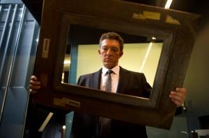 Vincet Cassel stars as villain Franck in Danny Boyle's psychological thriller Trance.
