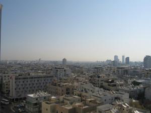 Tel Aviv, Israel, where Smadar Bakovic now lives and works. Photo: Flickr / David Poe