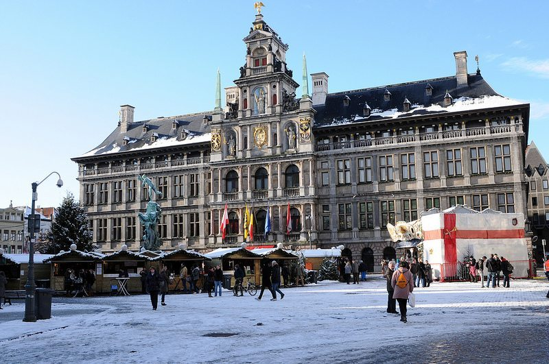 Winter in Antwerp (Source: Flickr, visitflanders)