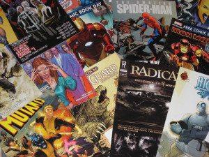 comic books - flickr alan alfaro
