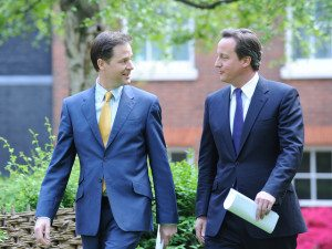 Photo: Nick Clegg and David Cameron - Flickr/Number 10