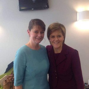 Photo: Leanne Wood and Nicola Sturgeon - Flickr/Plaid Cymru