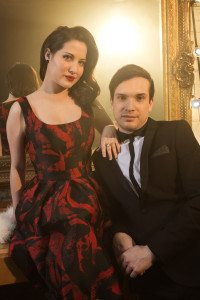 Electro Velvet, the UK's 2015 entry. Photo: BBC and Sarah Dunn