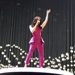 Conchita Wurst performs during the opening ceremony. Photo: Flickr / Fotospielwiese