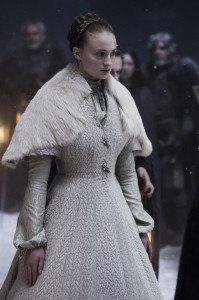 Sophie Turner as Sansa Stark. Photo: HBO and Sky