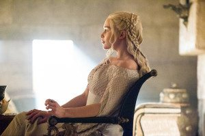 Daenerys has a nice sit-down with Tyrion. Photo: HBO and Sky