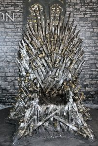 """Photo: Wikimedia Commons/ """"Poznań Pyrkon 2015 Game of Thrones The Throne"""" by Klapi - Own work. Licenced under CC BY-SA 4.0 via Wikimedia Commons"""