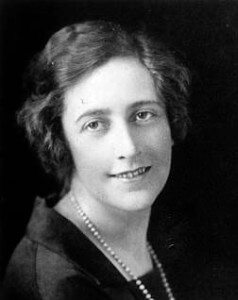 Agatha Christie. Wikimedia Commons/Unknown/Nuselot