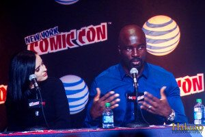 Image: Krysten Ritter and Mike Colter. Flickr / Romer Jed Madina (jedhakuro)