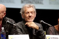 Ian McKellen has been among the many celebrities advocating for the BBC in the face of its current budget cuts. Image: Flickr / Gage Skidmore
