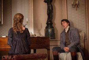 Natasha and Pierre share a moment. Image: BBC and Robert Viglasky