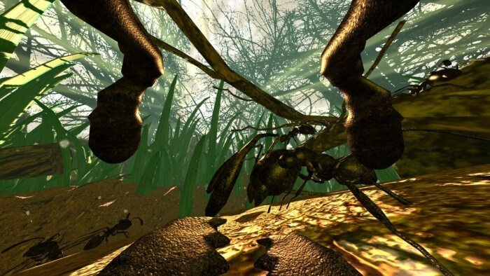 Ant Simulator was a game for which Kickstarter didn't quite work out as planned