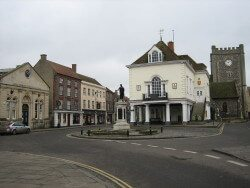 Wallingford is one of Midsomer's many picturesque filming locations. Image: Sciencebloke / Wikimedia Commons