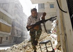 Technology is helping to document crimes in the Syrian conflict. Image: a.anis / flickr