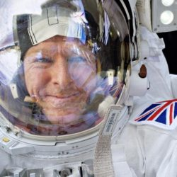 There's nothing quite like a selfie in space. Image: Tim Peake / Twitter