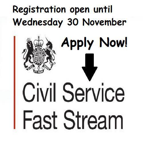 Civil Service Fast Stream