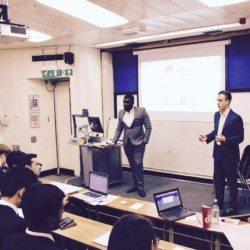 Image: Twitter/Jack Jacobs.  Michael and Jack at an Instinctive Investors workshop at UCL.