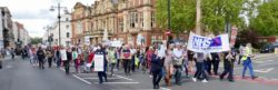 NHS march leamington