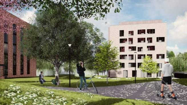 Redfern Revamped New Campus Accommodation Set For Green