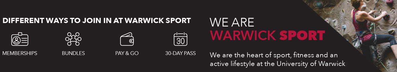 Warwick Sport Banner
