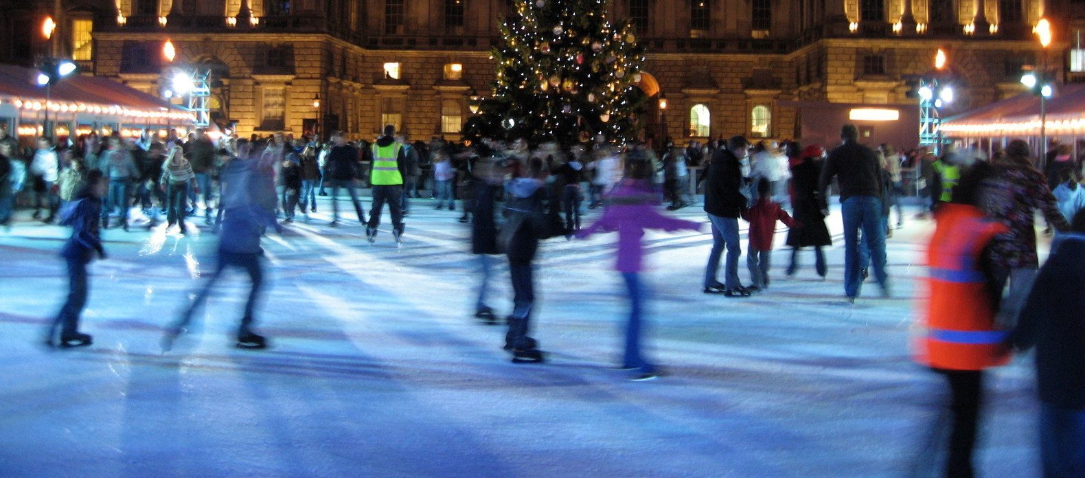 Christmas Ice Skating Rink Decoration.Free Ice Skating Rink Coming To Kenilworth The Boar