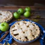 apple date tart