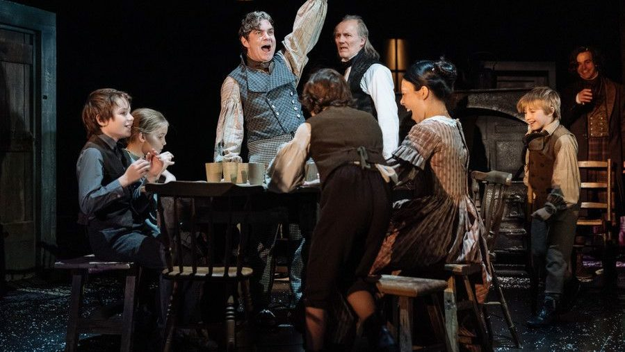How Long Is The Christmas Carol Play.Heart Warming Jovial And Redemptive A Review Of A