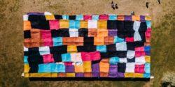 Worlds Largest Blanket Fort