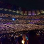 Grand concert lit up by phones