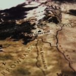 Game of Thrones map close up