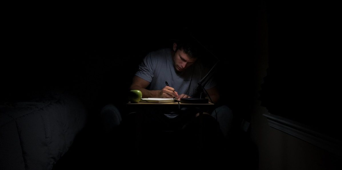 author writing in the dark - will eaves interview