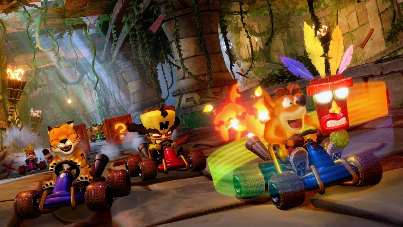 Crash Team Racing Nitro Fueled - Switch Review - The Boar