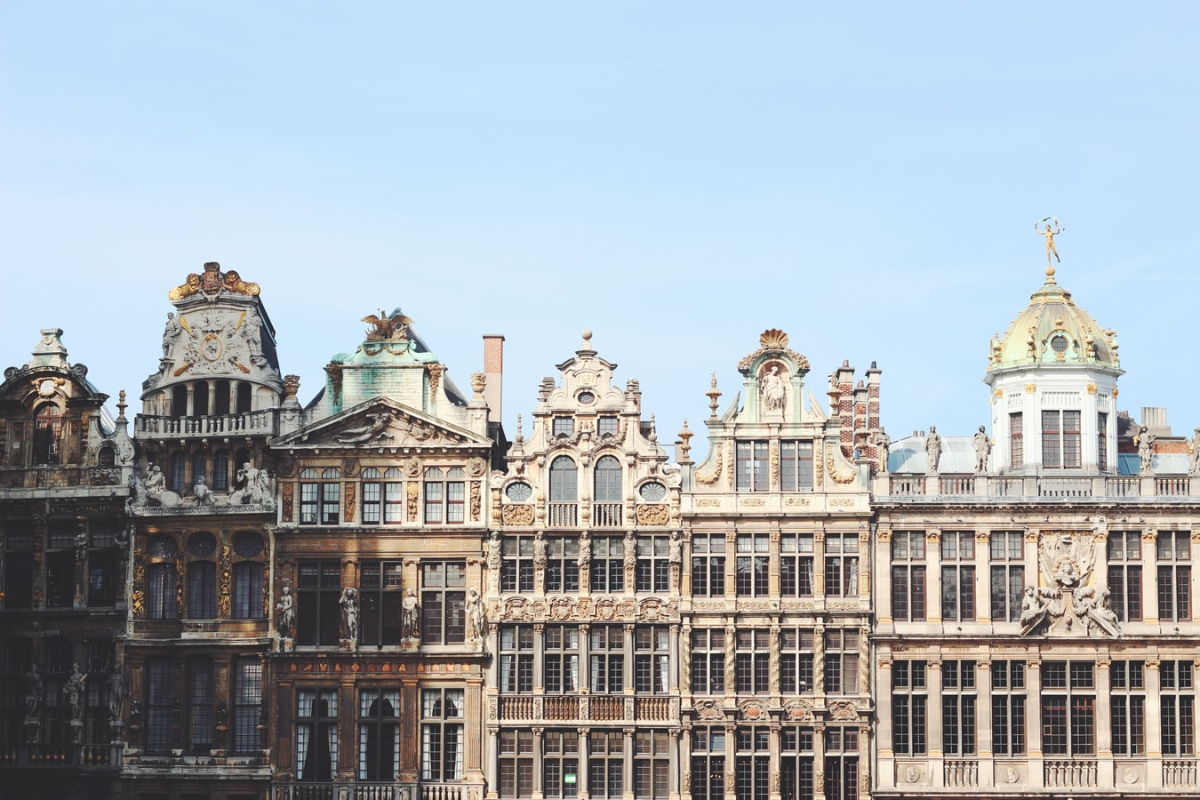 Royal palace in Belgium