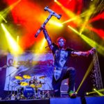 Gloryhammer band on stage