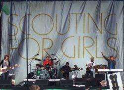 scouting for girls on stage