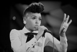 Janelle Monae performing live