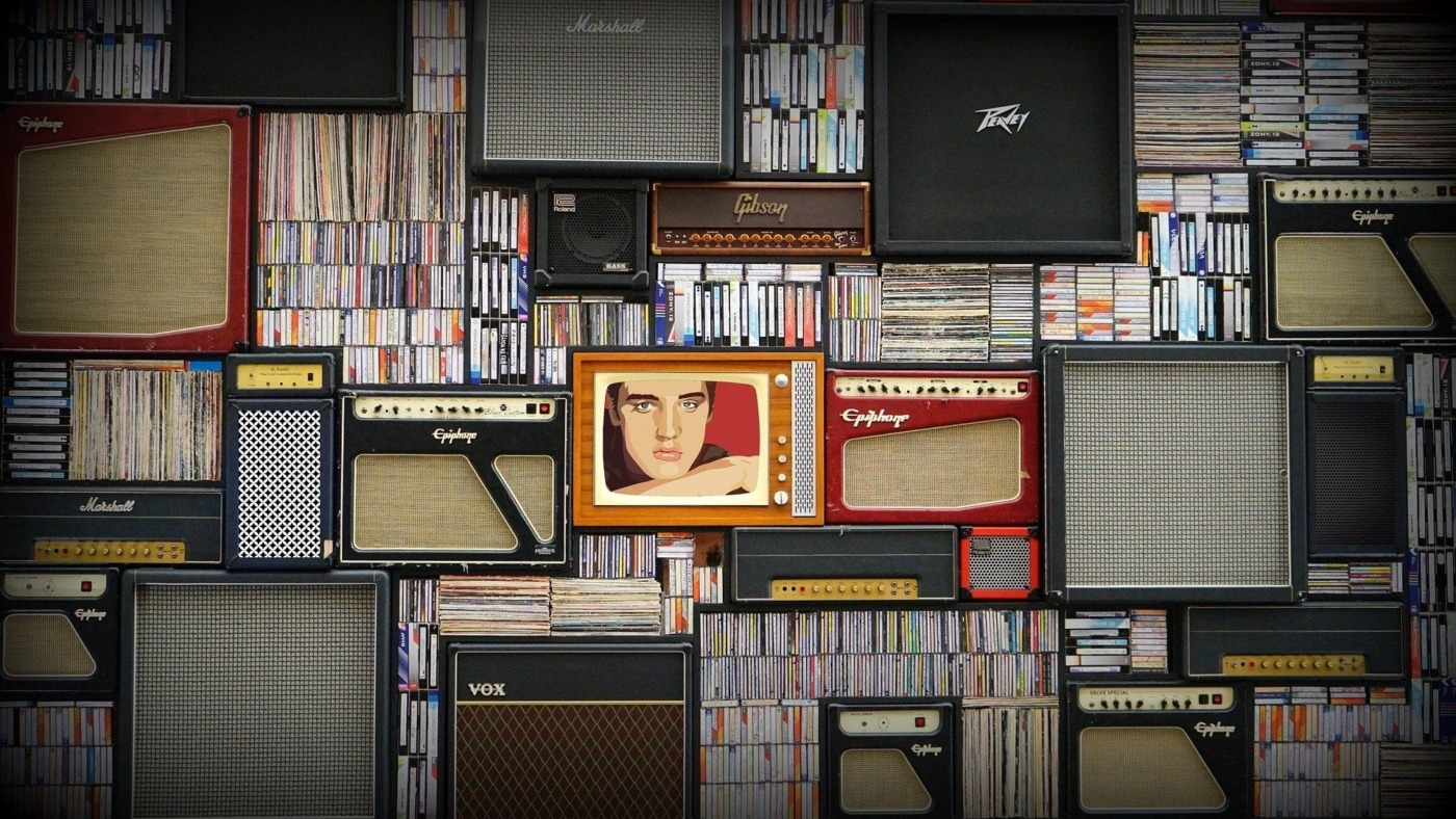 image of music and tv, separate music from artist