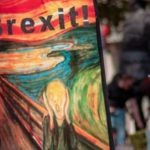 brexit and scream painting - publishing