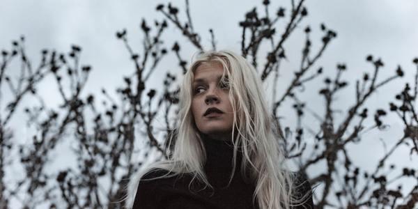 girl in woods - damaged girls