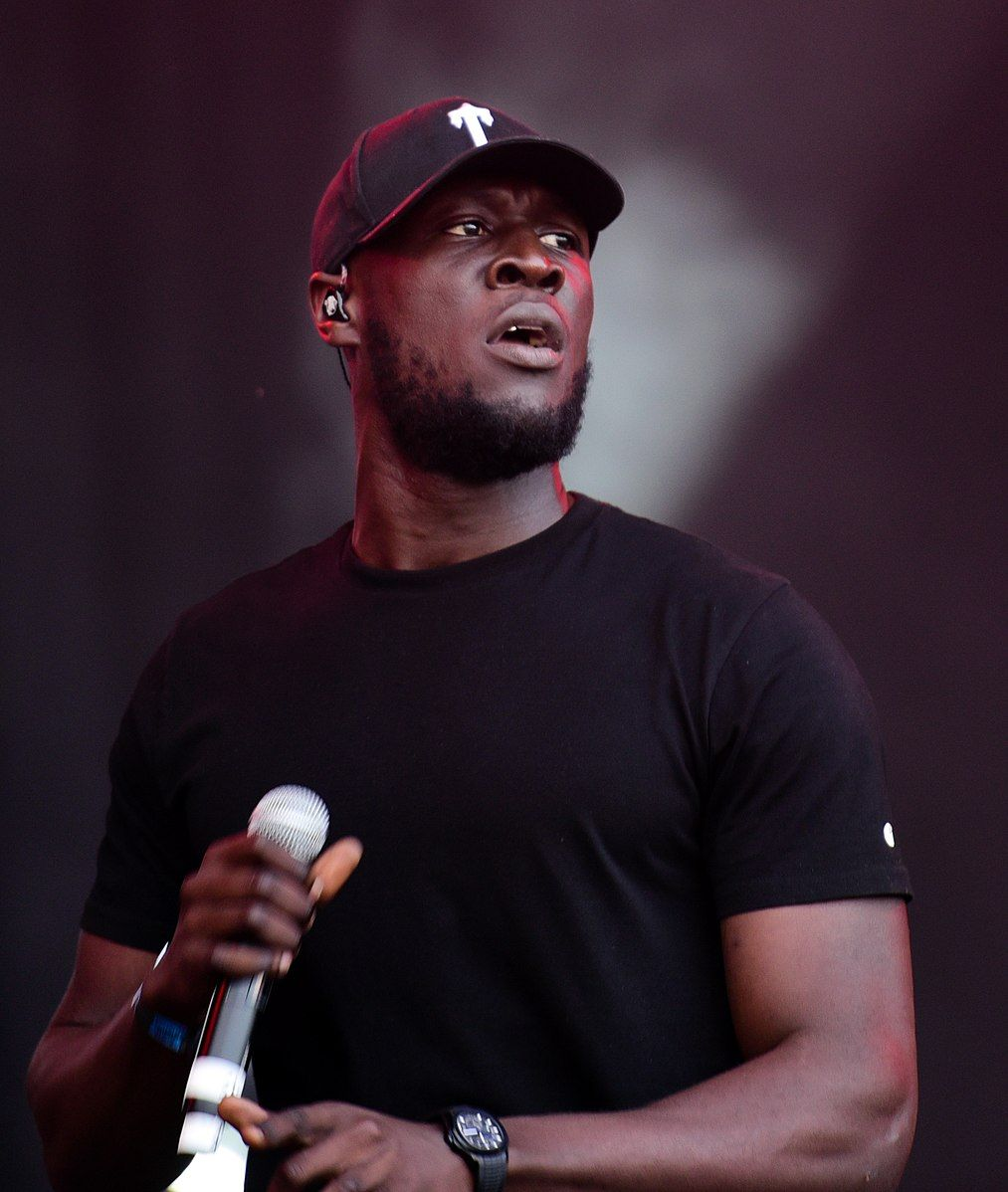 Stormzy on stage