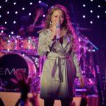 Mariah Carey performing live