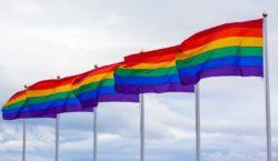 Rainbow over eye