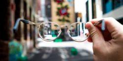 looking through glasses empathy