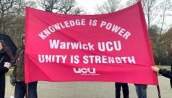 Warwick strikes
