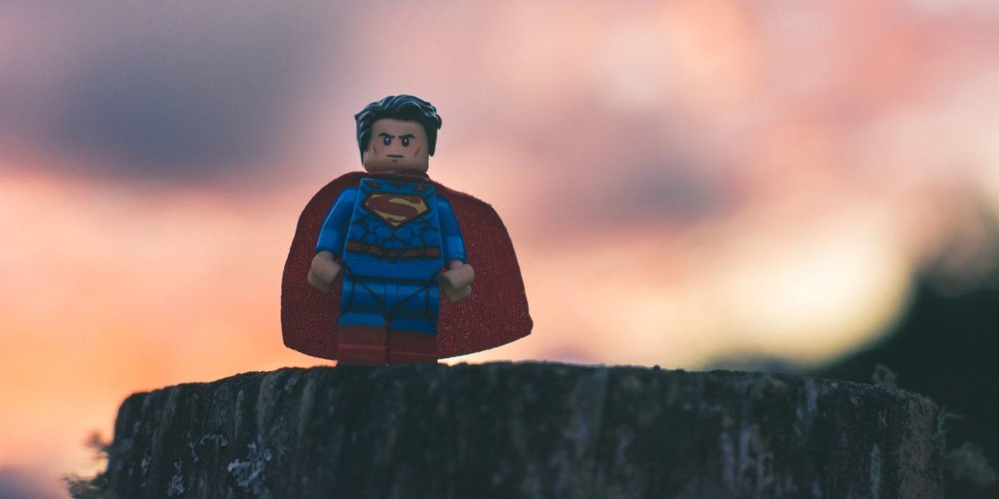 lego superhero - snowflake