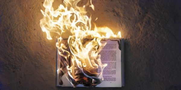 book on fire censored