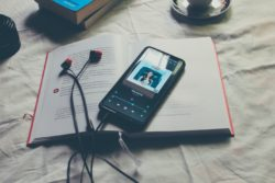 music on phone with book revision