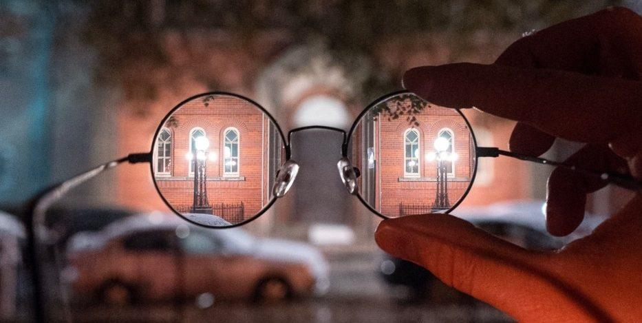 look through glasses - experiences